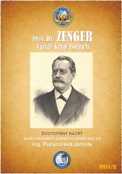 Prof. Dr. Zenger  Václav Karel Bedřich (1830 - 1908)